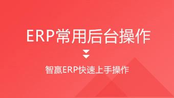 智赢ERP-跨境电商ERP常用后台操作